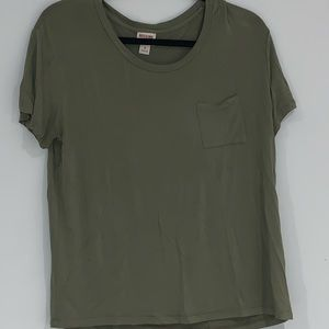 Mossimo army green tunic